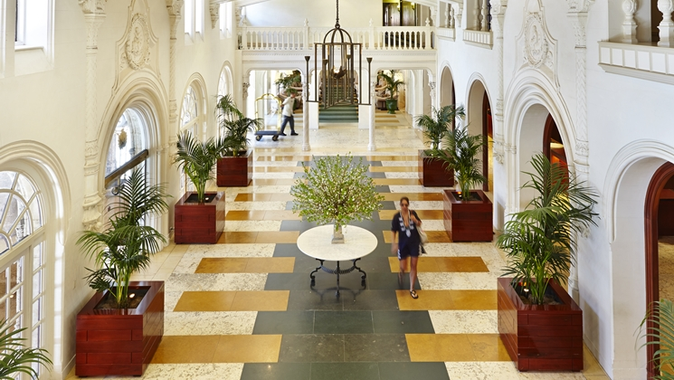 The Cloister Renovated Lobby
