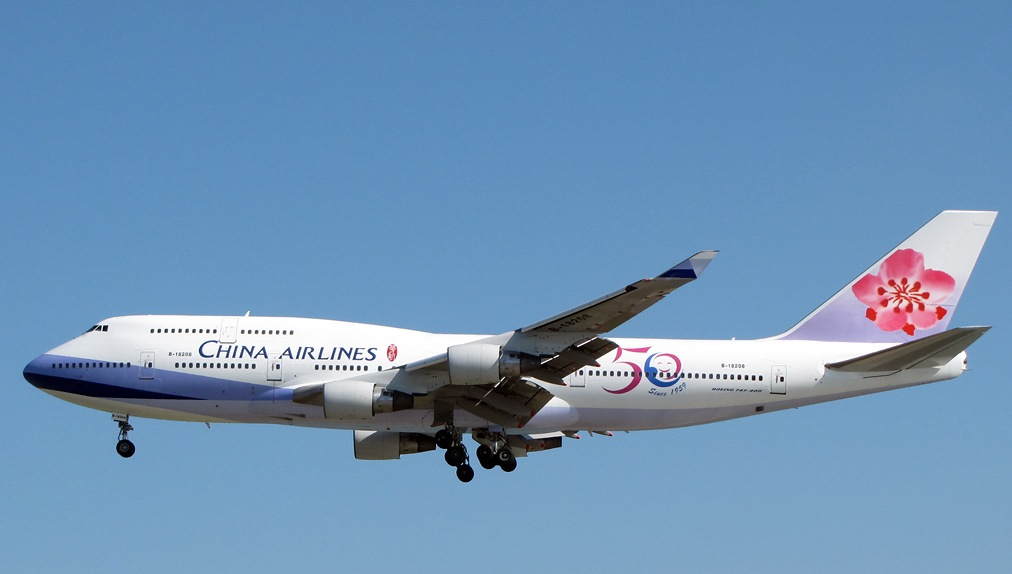 China Airlines 747 400