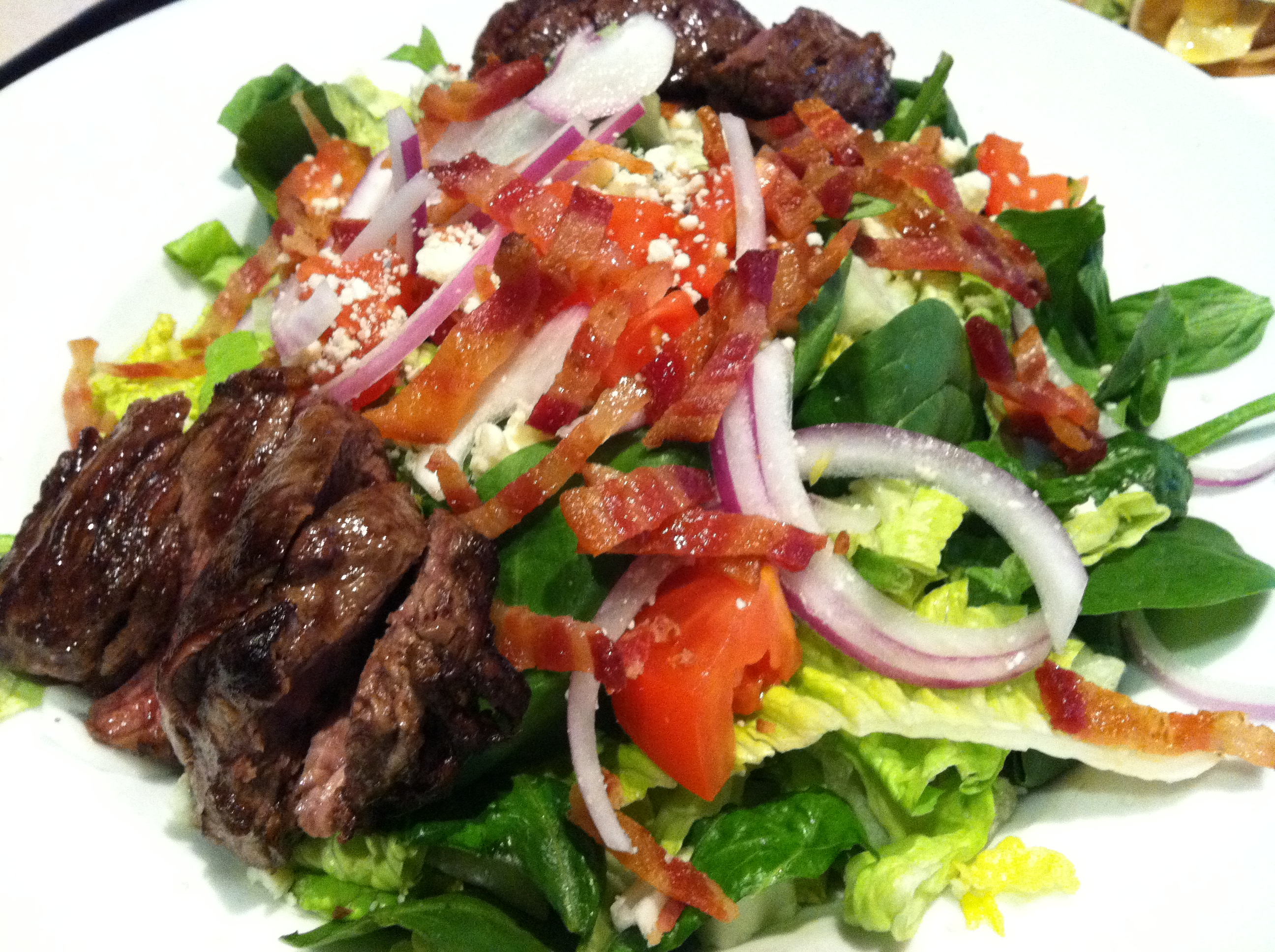 steak with bloody mary tomato salad recipe steak with bloody mary ...