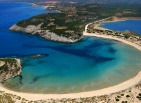 Beach near Costa Navarino in Messinia, Greece